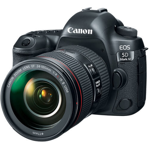 Canon EOS 5D Mark IV + 24-105/4.0L IS II USM Lens