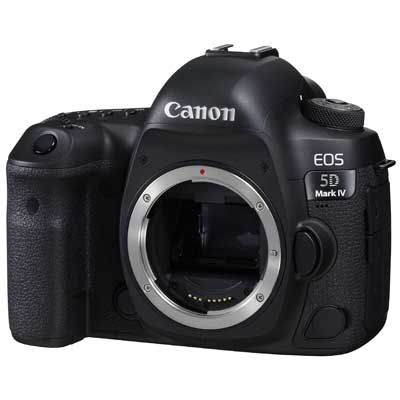 Canon EOS 5D Mark IV Digital SLR Camera Body | UK Camera Club Ltd
