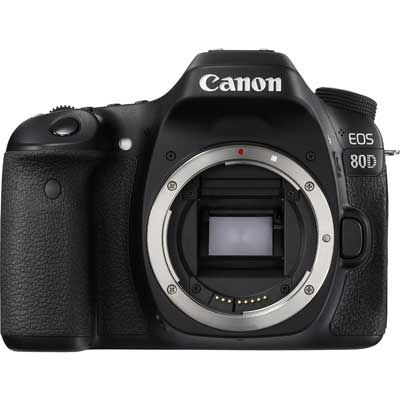 Canon EOS 80D Digital SLR Camera Body | UK Camera Club Ltd