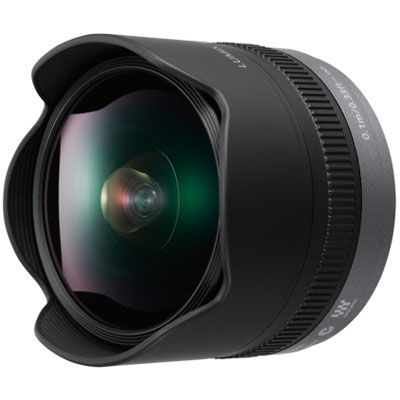 Panasonic 8mm f3.5 Lumix G Fisheye Micro Four Thirds Lens