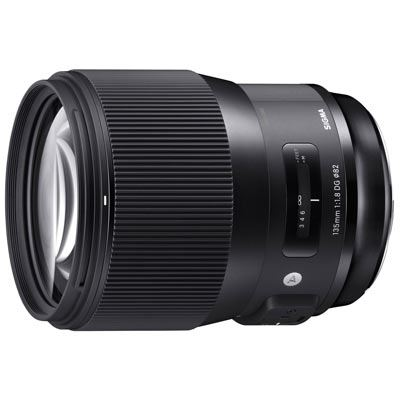 Sigma 135mm F1.8 DG HSM | Art Lens